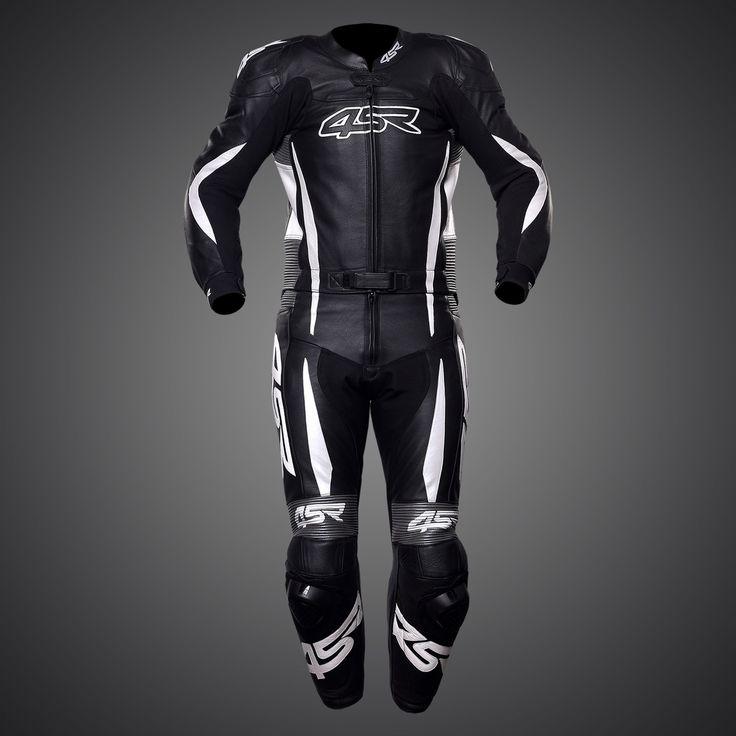 4SR RR Evo II Gun Metal leather suit