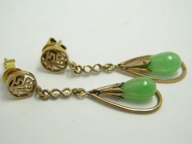 Chinese Jade Earrings