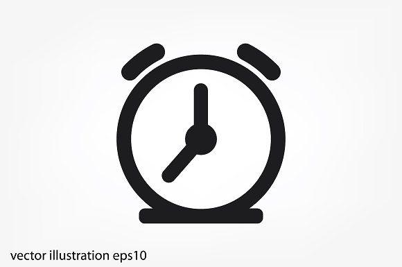 Alarm Clock Icon By 007nataliia On
