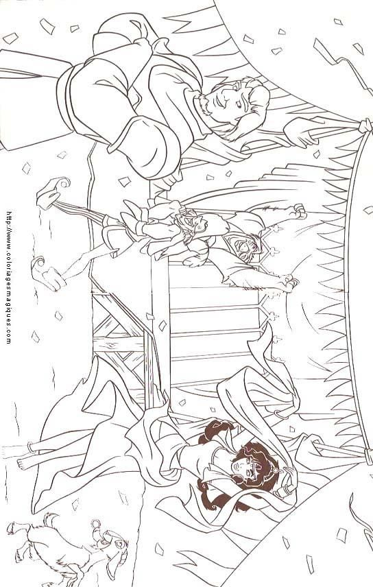 Disney Coloring Pages Hunchback Notre Dame : Best disney hunchback of notre dame coloring pages