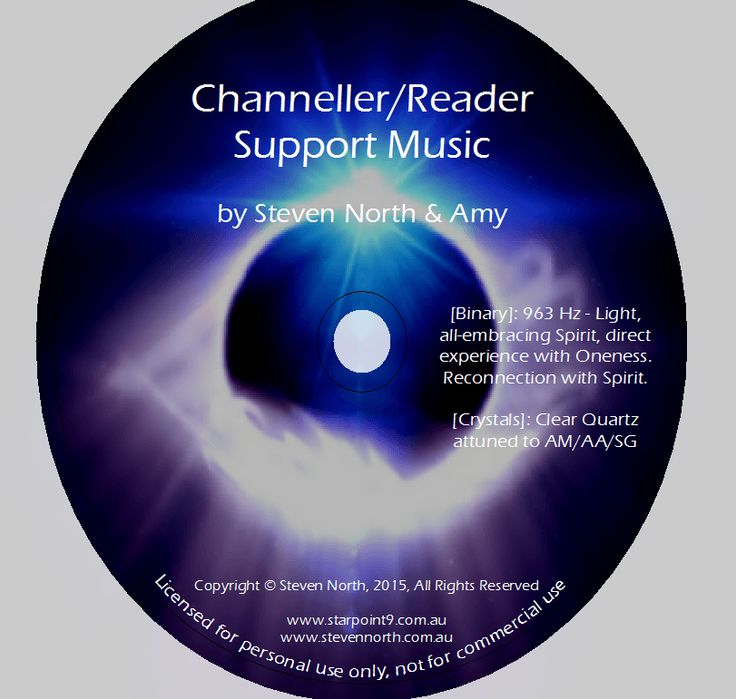Channellers & Readers Support Music... Ascended Masters, Archangels & Spirit Guide in sound.