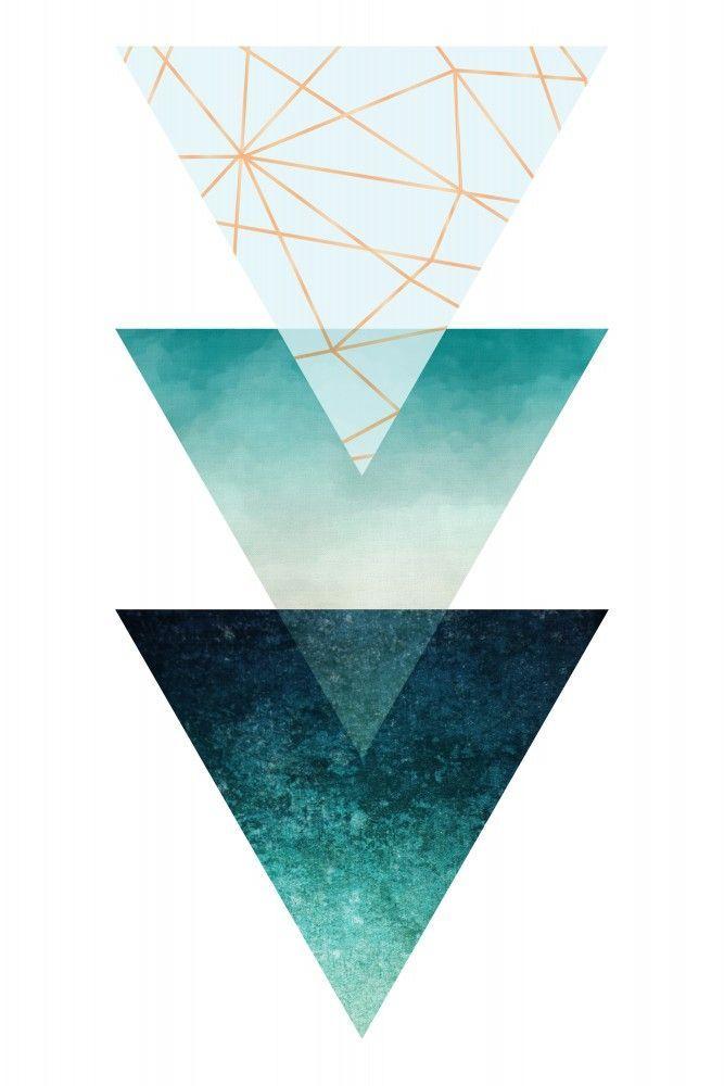 Geometric Triangles | Poster | artboxONE