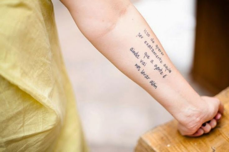 O Casulo das Letras: Tatuagens Literárias - Tattoos inspiradas em livros