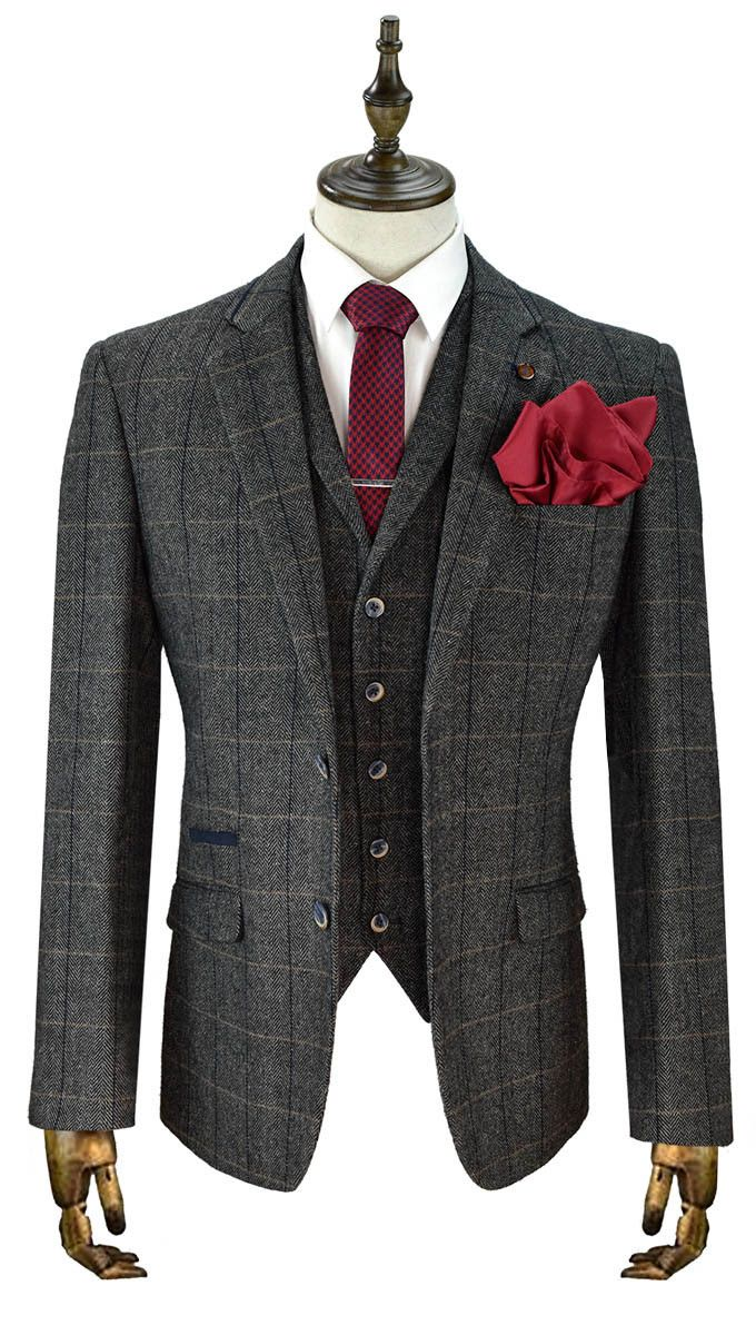 Now available on our store London Tweed Chec..., Check it out now http://menstweedsuits.com/products/london-tweed-checked-suit?utm_campaign=social_autopilot&utm_source=pin&utm_medium=pin