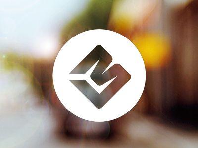 Lovely double-edged logo #logos #branding