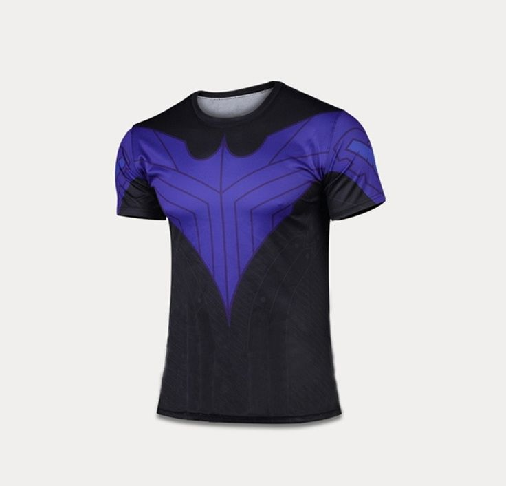 Nightwing Robin Quick-dry Sports T-shirt, Breathable Short Sleeve T-shirt For Outdoor Sports.