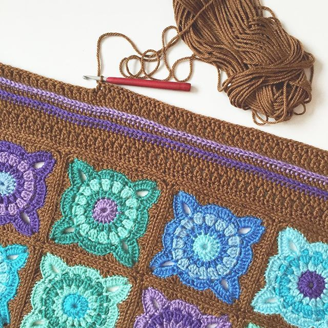 olivesandpickles crochet blanket border