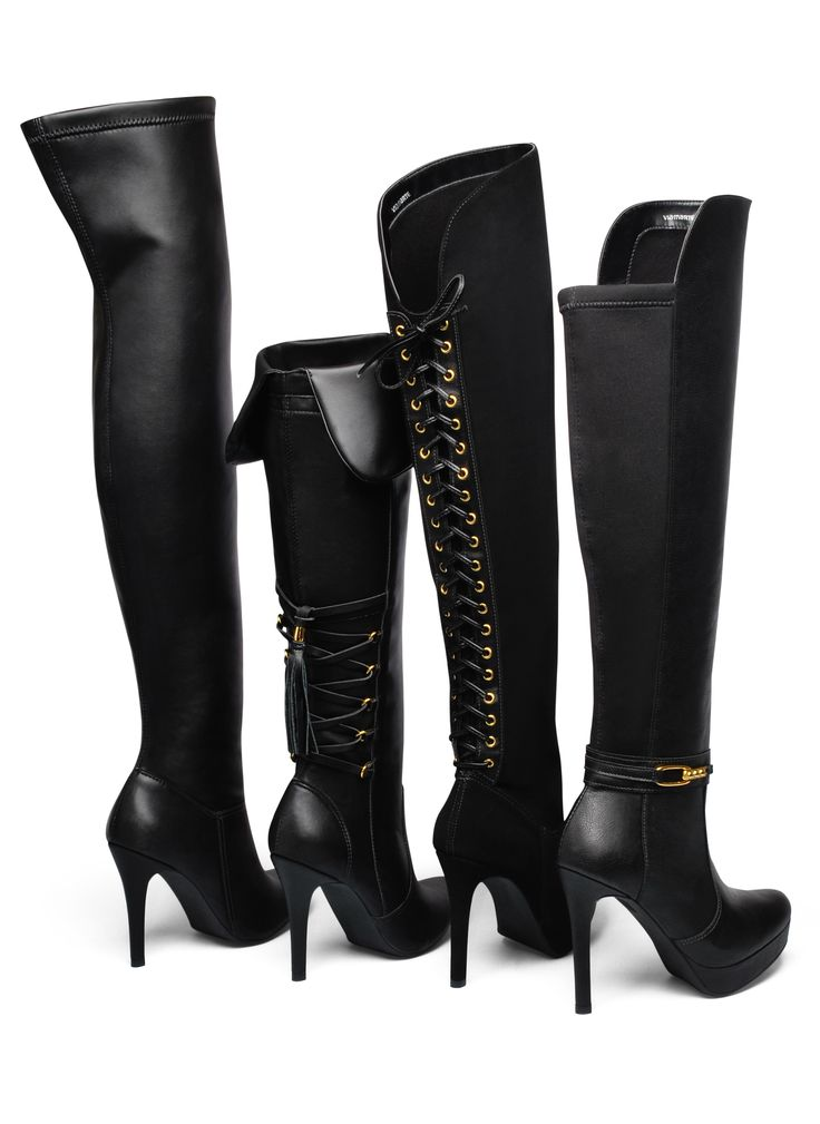 over the knee boots - winter shoes - Inverno 2015 - Ref. 15-4808 | 15-4803 | 15-6205 | 15-6203