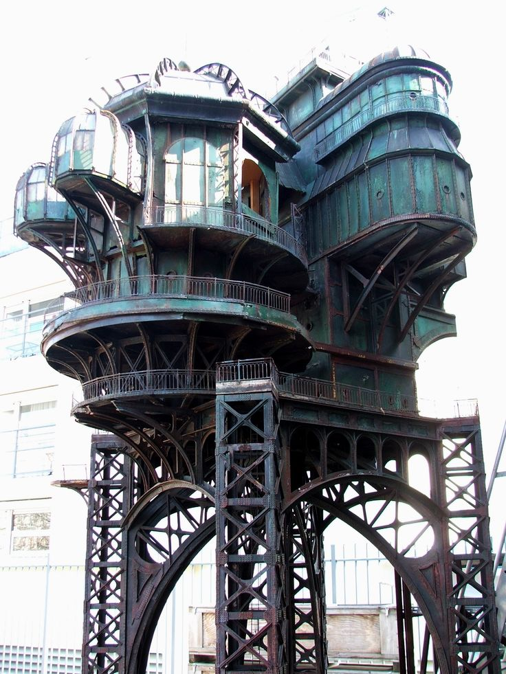 Steampunk architecture gear and steampunk references for Steampunk house design