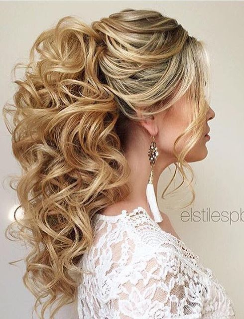 Elstile wedding hairstyles for long hair 37 - Deer Pearl Flowers / http://www.deerpearlflowers.com/wedding-hairstyle-inspiration/elstile-wedding-hairstyles-for-long-hair-37/