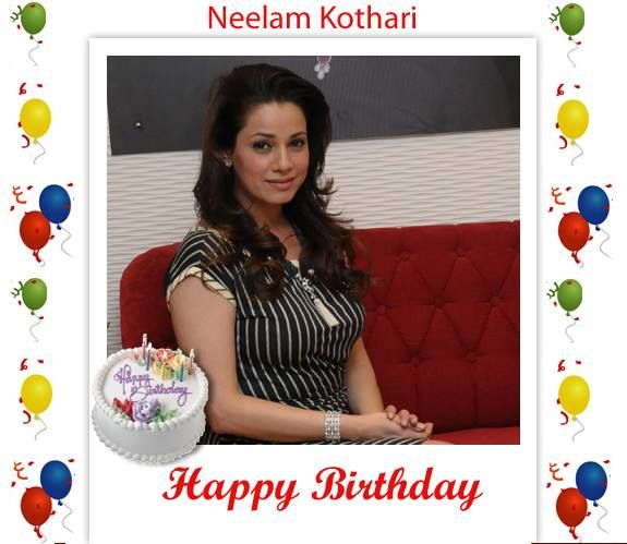 "Wishing a --Happy #Birthday-- to very beautiful and bold former Bollywood actress ""Neelam Kothari"" http://www.cinemawale.com/neelam-kothari"