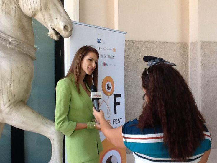 Conferenza stampa di presentazione del Roma Web Fest, che prenderà il via venerdì 27 settembre presso il Teatro Golden, a Roma. Numerosi gli eventi e i premi di questo evento, unico del suo genere in Italia. Per info e accrediti: www.romawebfest.it