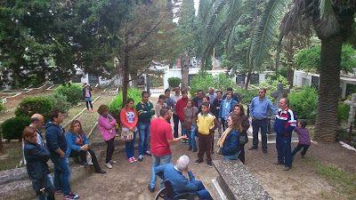 Este sábado 30...visita al Cementerio Evangelista de #Linares...un trozo de nuestra historia...