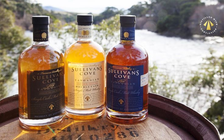 World's best single malt whisky - Sullivans Cove