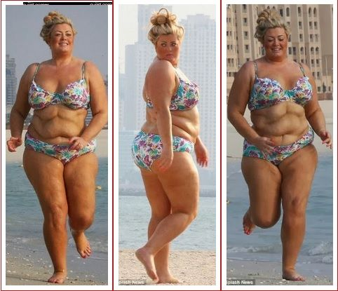 British reality star and plus size designer Gemma Collins ...