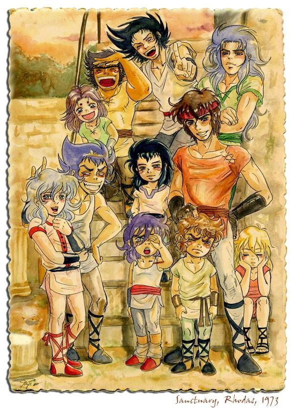 Gold Saint's Friends ♥ [o….o] !