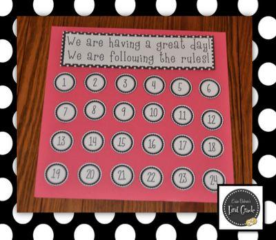 Erica Bohrer's First Grade: Classroom Behavior System