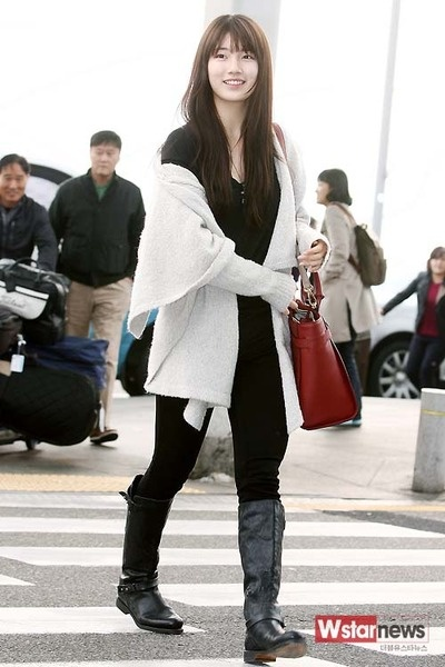 159 Best Images About S U Z Y Miss A On Pinterest Bae Suzy Harpers Bazaar And Airport Fashion