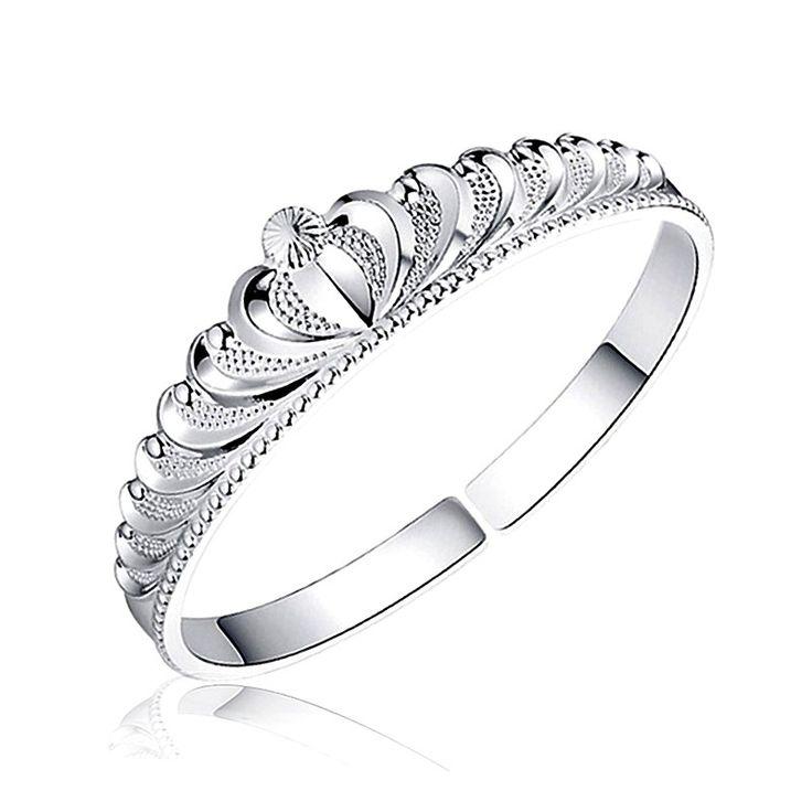 Bratara argintie http://www.bijuteriifrumoase.ro/cumpara/bratara-princess-1010