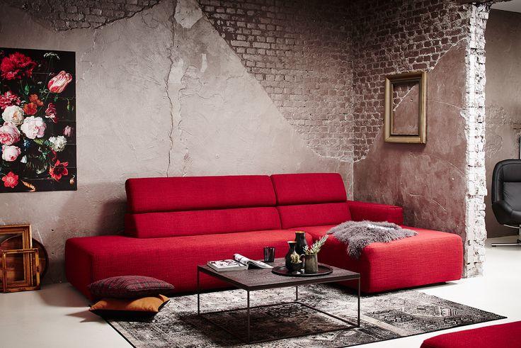 Montèl hoekbank Pepper - Industriële woonkamer #industrial #design ...