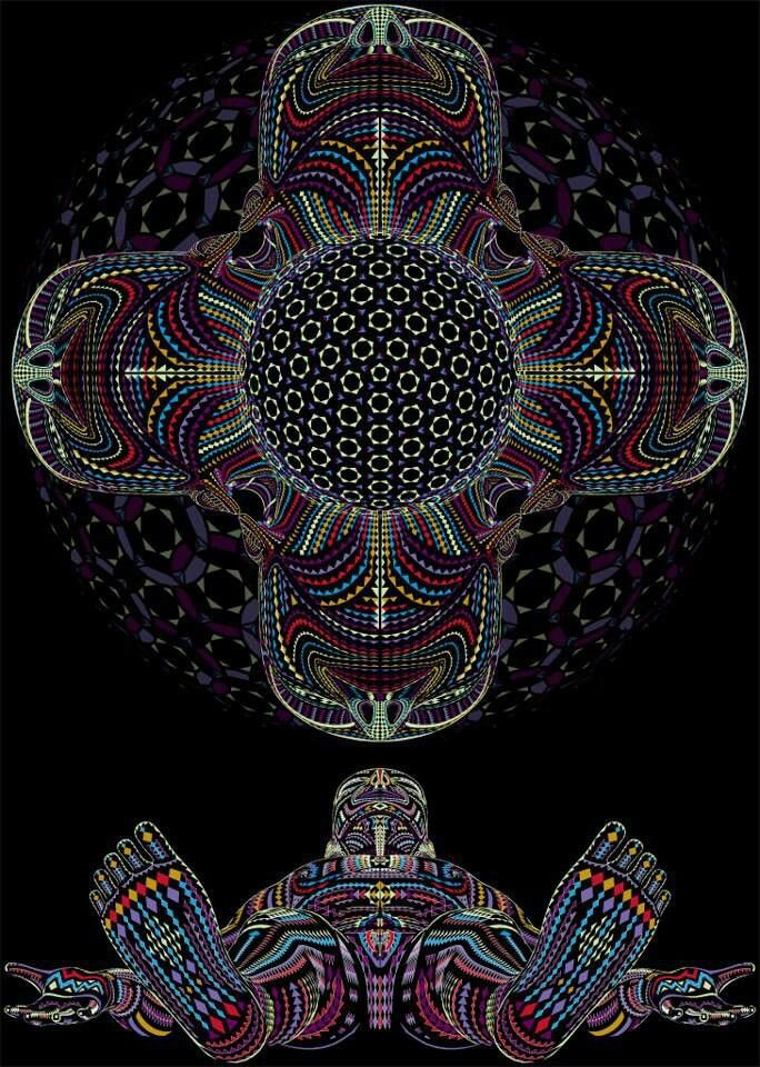 Simbolika Psychedelic Art by Alex Gray                                                                                                                                                                                 More