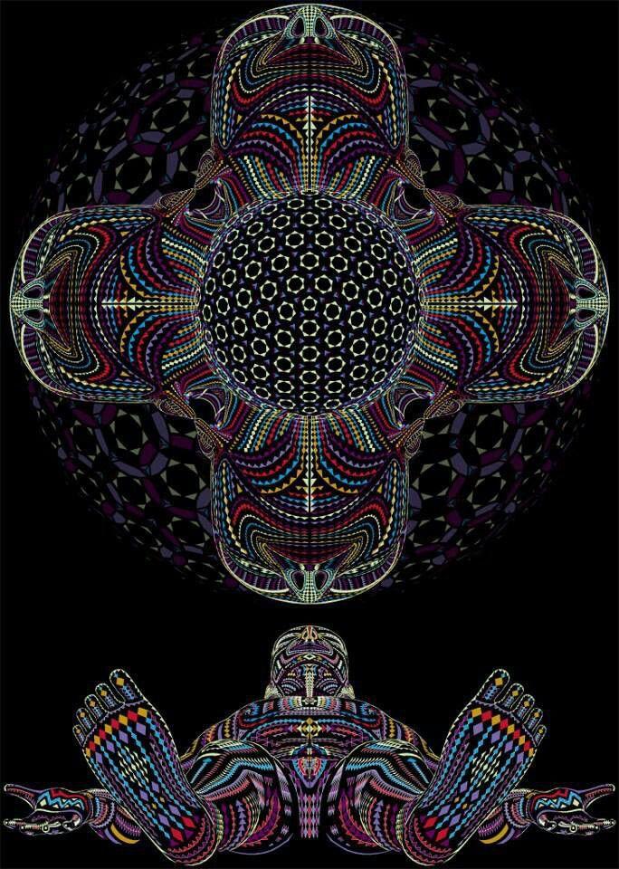 Simbolika Psychedelic Art by Alex Gray