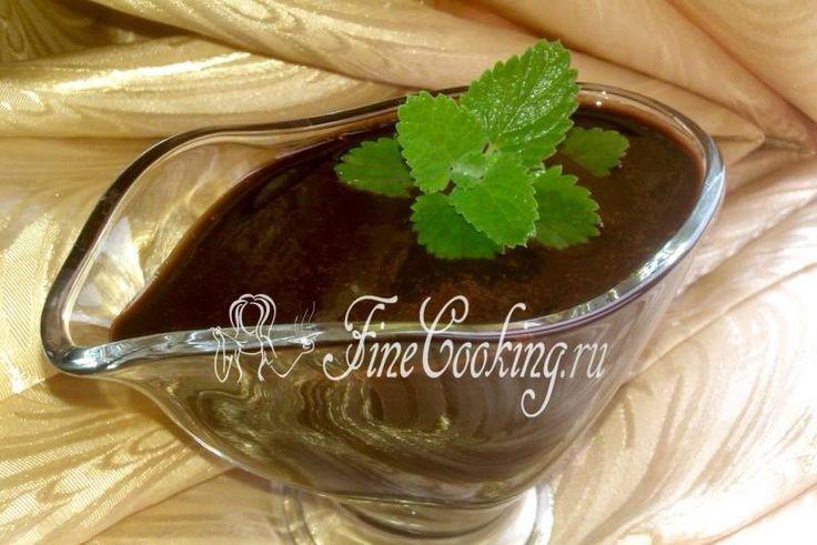 Шоколадный сироп - рецепт с фото