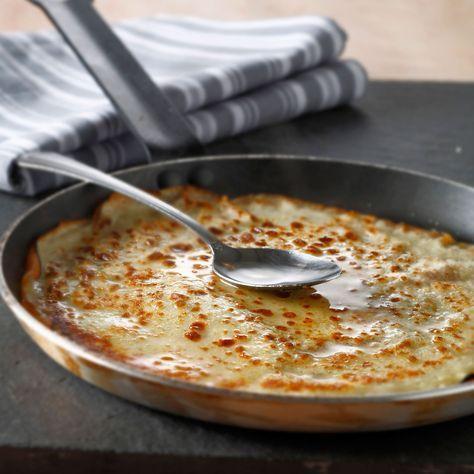 Découvrez la recette Pâte à crêpe sans repos sur cuisineactuelle.fr.