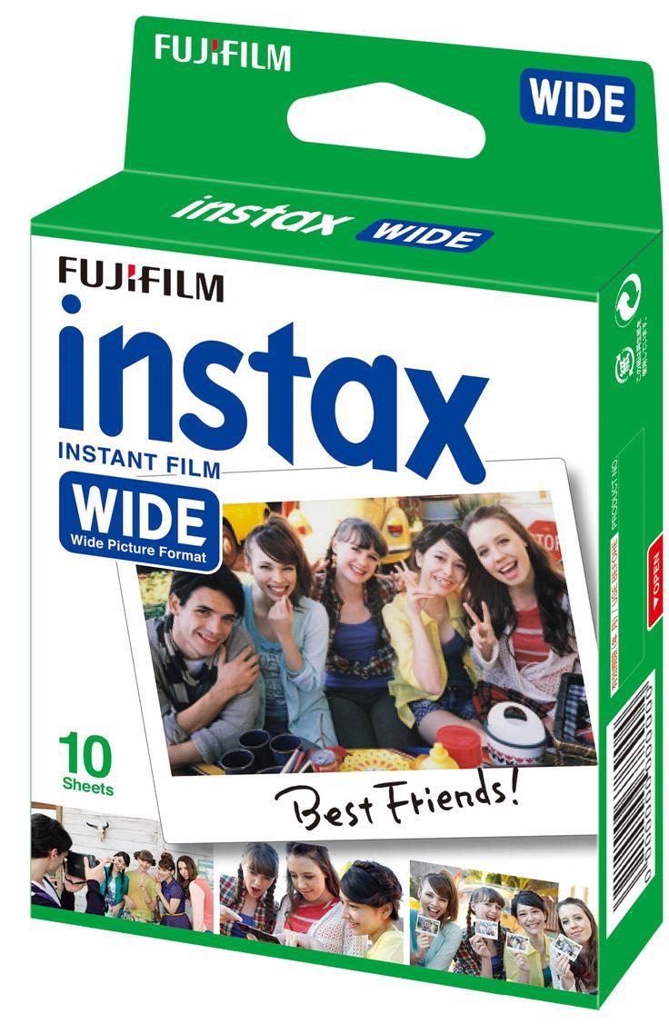 Instax wide film white