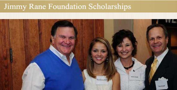 Jimmy Rane Foundation Scholarship