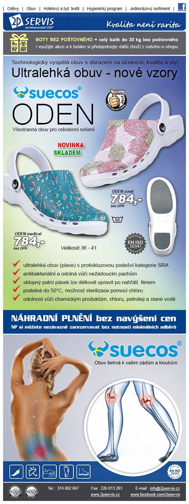 ★ ★ Suecos Oden - Nové vzory Ultralehké obuvi ★ ★