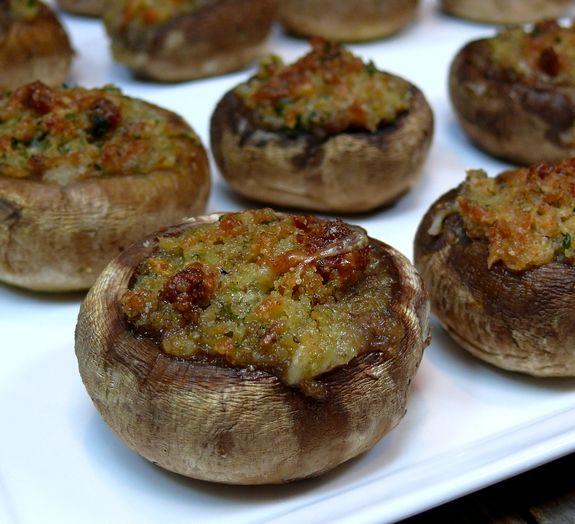 Italian Stuffed Mushrooms