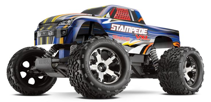 Traxxas - Stampede VXL 1:10 Scale 2WD Monster Truck