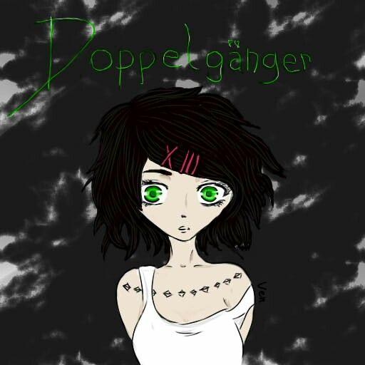OC, Doppelgänger #drawing #rysunek #girl #dziewczyna