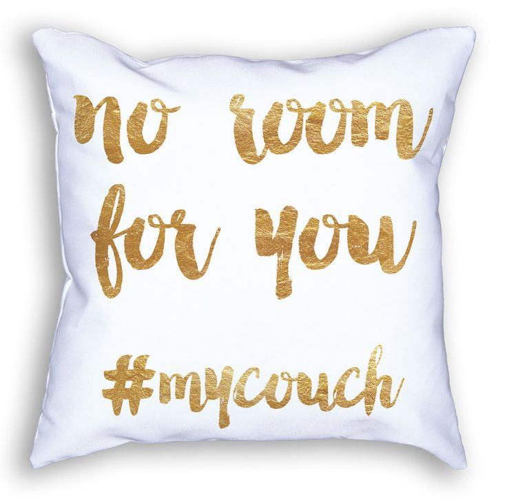 No Room Custom Pillow by owlHouseINK on Etsy