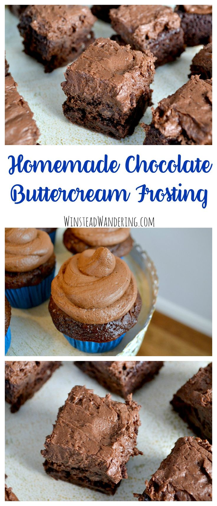 Put the store-bought stuff down; homemade chocolate buttercream frosting is surprisingly easy and tastes 100 times better.