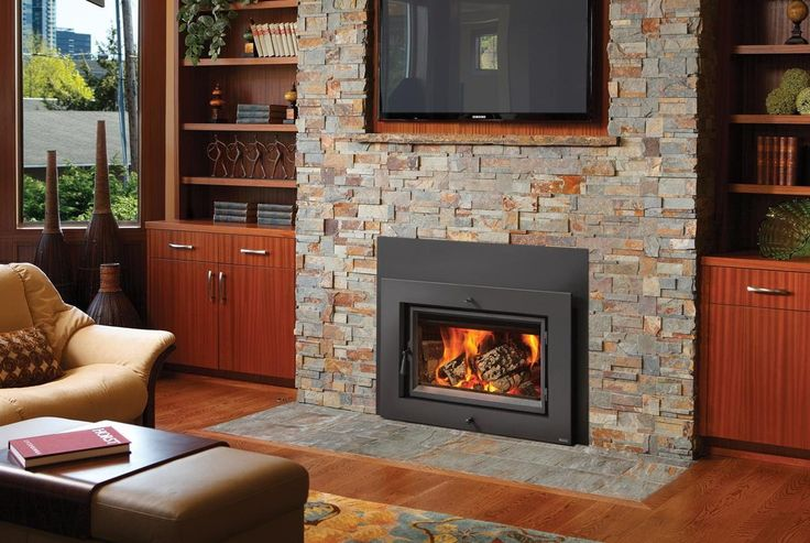 wood burning stove inserts slate  | Wood Burning Stove Amp Fireplace Insert Atlanta Heat Your Whole Inside ...