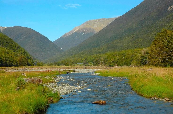 Lewis Pass river - great trout fishing