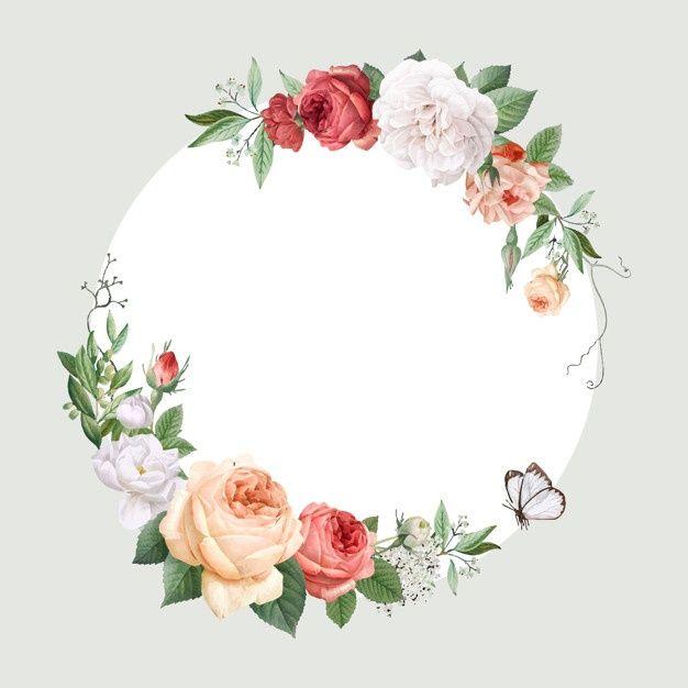 Download Floral Design Wedding Invitation Mockup For Free In 2020 Invitation Mockup Vector Free Floral