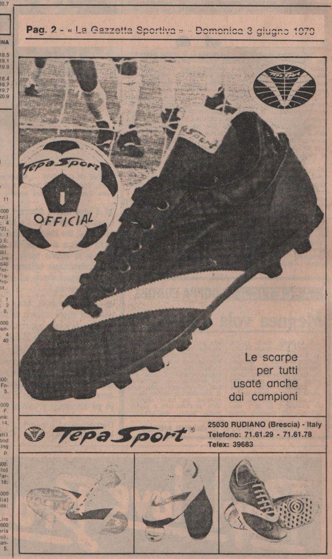 """Domenica 3 giugno 1979 Da """"La Gazzetta Sportiva"""", oggi La Gazzetta dello Sport ... ⚽️ C'ero anch'io … http://www.casatepa.it/ 🇮🇹 Made in Italy dal 1952 #WEAREBACK"""