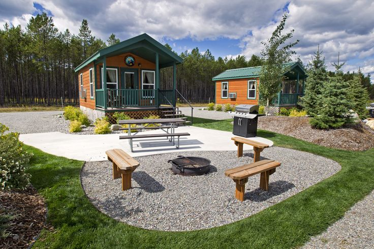 Deluxe Cabin Patio Site At The West Glacier Koa Holiday