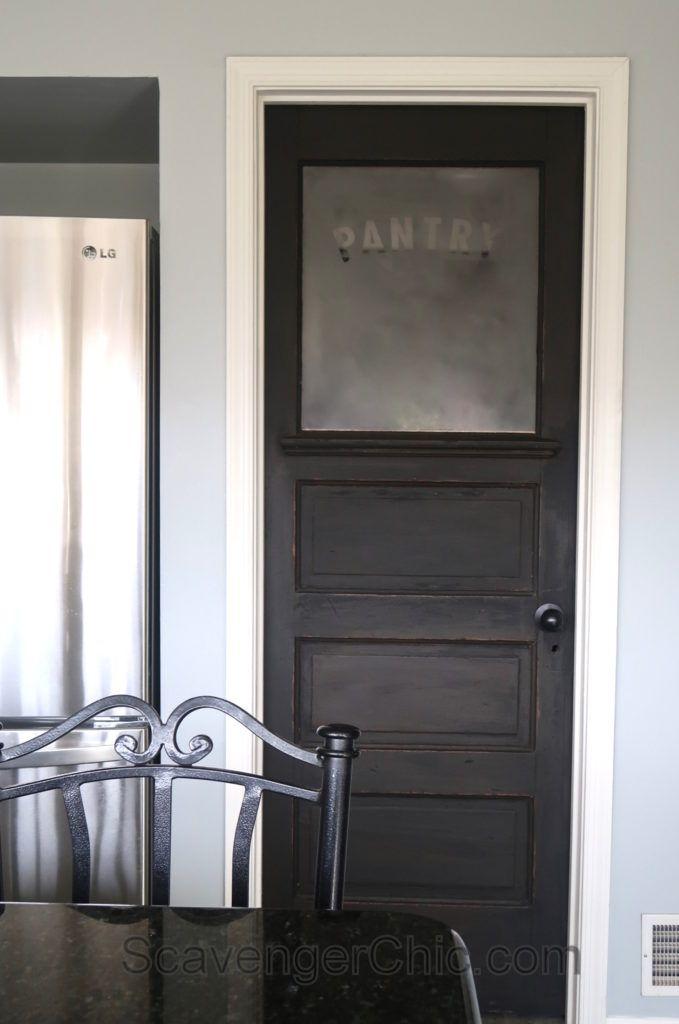 Installing A Vintage Pantry Door Vintage Pantry Kitchen Pantry Doors Pantry Door
