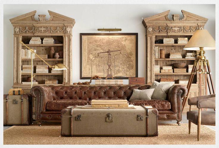 21 cool tips to steampunk your home living pinterest wohnzimmer m bel und einrichtung. Black Bedroom Furniture Sets. Home Design Ideas