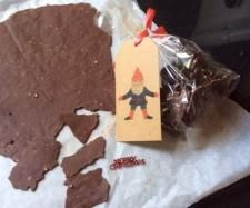 Chocolate Almond Thins  | Thermomix Homemade Christmas Gifts