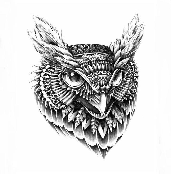 Impresionantes ilustraciones con gran detalle - Imagui