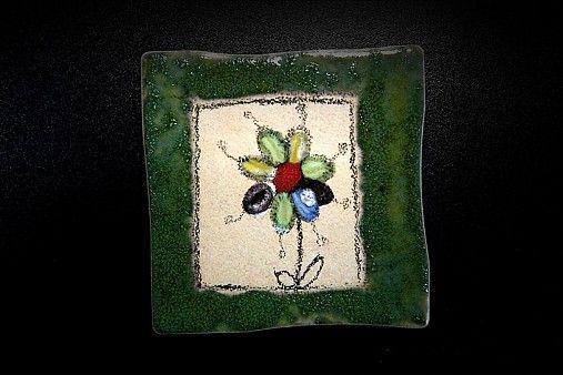 Obkladačka Kvetinka 3 by Kreatura - SAShE.sk - Handmade Dekorácie