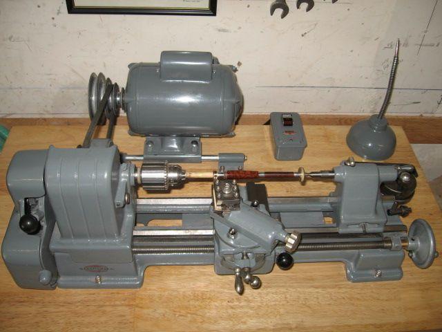 "1940's Craftsman Metal Lathe (6"" x 12"") = Model No.109 ..."