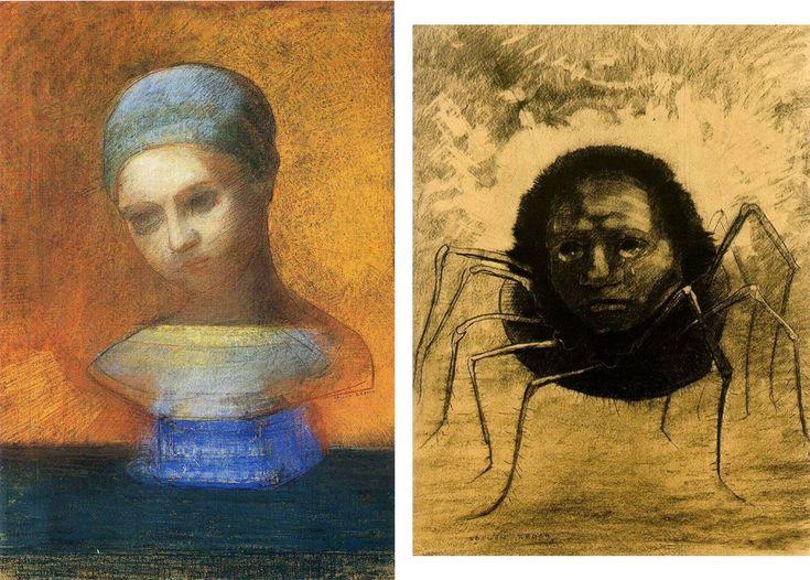 Arsgravis – Arte y simbolismo – Universidad de BarcelonaLos rostros inquietantes de Redon — Arsgravis - Arte y simbolismo - Universidad de Barcelona