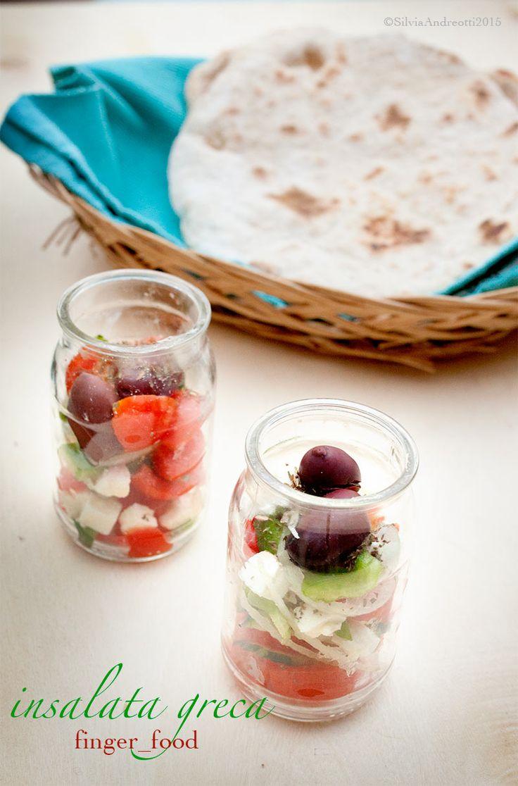 Insalata greca finger food, aperitivo greco chapter2