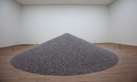 Tate buys eight million Ai Weiwei sunflower seeds-- saw this exhibit at the Tate Modern.